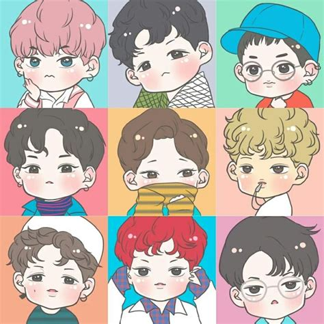 309 best about k obsessed fanart on chibi kpop and suho