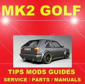 Dedicated Vw Mk2 Golf Rabbit Gl Gti 8v 16v Modification