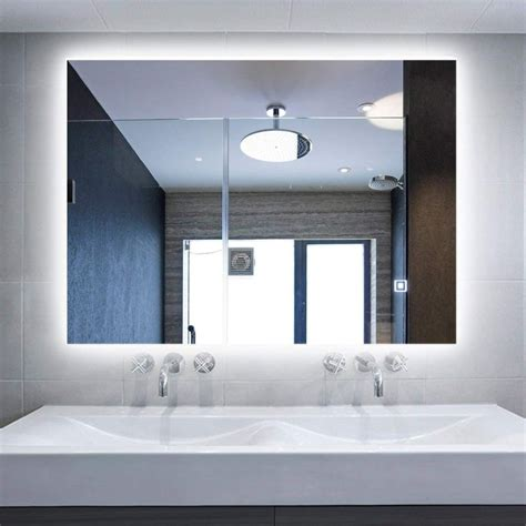 Bathroom Mirrors With Built In Lights by The Best Bathroom Mirrors With Built In Led Lights