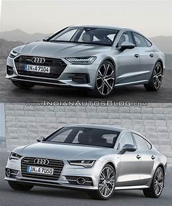 Audi A7 2018 : 2018 audi a7 sportback vs 2014 audi a7 sportback old vs ~ Nature-et-papiers.com Idées de Décoration