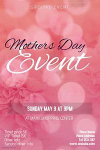 Mothers Day event flyer template   PosterMyWall