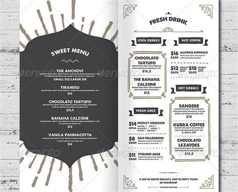 eliteshop food menu restaurant vorlage