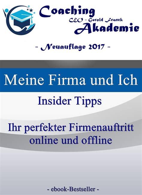 """Titel """"meine Firma Und Ich  Insider Tipps"""""""