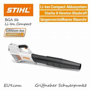 Akku Laubbläser Stihl : stihl bga 56 akku laubbl ser li ion compact g nstig kaufen ~ Orissabook.com Haus und Dekorationen