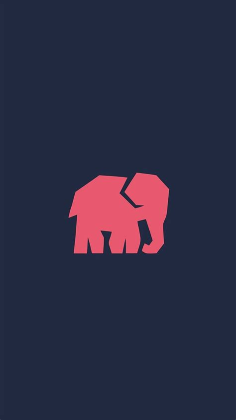 iphone 7 minimal wallpaper minimal elephant iphone wallpaper pachydermania in 2019