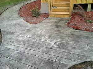 Wood Plank Concrete Stamp Picture