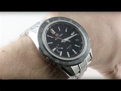 grand seiko spring drive gmt sbge luxury  review