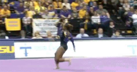 Usag Level 4 Floor Routine Scoring by Lloimincia Of Lsu S Floor Routine Business Insider
