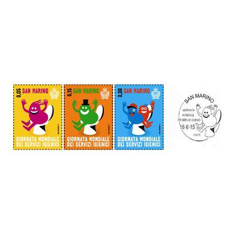 journee internationale des toilettes marin 2015 journ 233 e mondiale des toilettes s 233 rie des 3 timbres elys 233 es numismatique