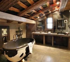 Moderne Holzdecken Beispiele : 23 fantastische rustikale badezimmer design ideen ~ Markanthonyermac.com Haus und Dekorationen