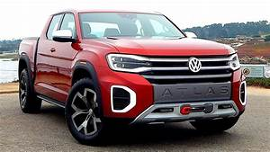 Pick Up Vw : new volkswagen atlas tanoak in details premium pickup truck concept youtube ~ Medecine-chirurgie-esthetiques.com Avis de Voitures
