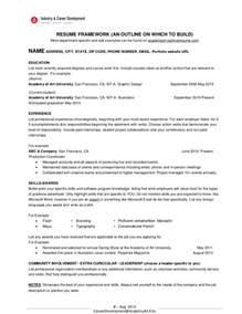 Ideally How Should Your Resume Be by How Should My Resume Be