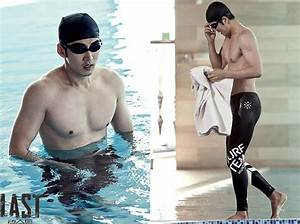 """""""Last"""" Yoon Kye-sang in a swim suit, showing off his ..."""