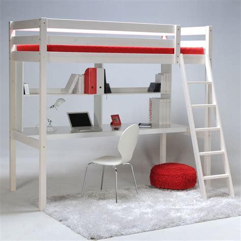 lit mezzanine avec bureau classique escamotable mezzanine quel lit choisir