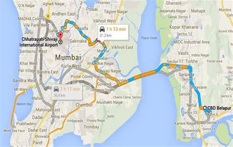 BEST AC Buses With Routes at Mumbai Airport T2