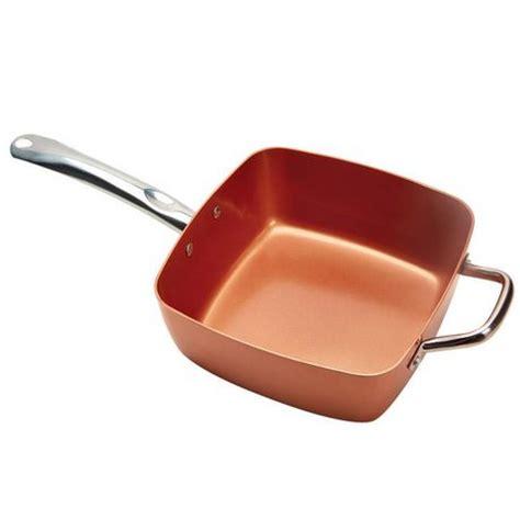 batterie cuisine cuivre batterie de cuisine de 5 pièces de copper chef walmart ca