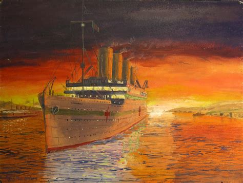100 sinking of the hmhs britannic maritimequest