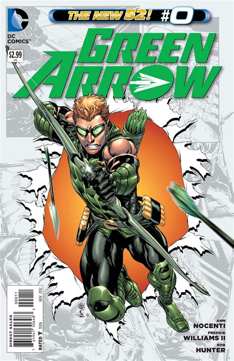 Winick And Williams' Green Arrow Leads Off Dc Comics' Zero