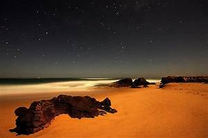 Mars Landscape Night - Pics about space