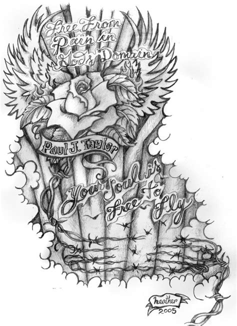 Memorial Tattoo Pattern by EyeArt4U on DeviantArt