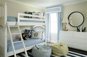 Blue And White Big Boy Room