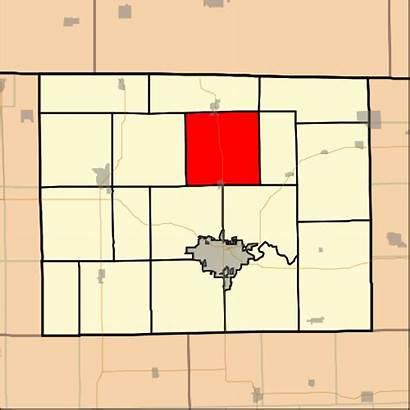Township Illinois Stephenson County Buckeye Map Svg