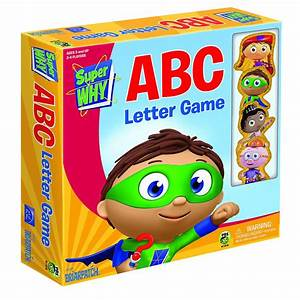 super why abc letter game With abc letter game