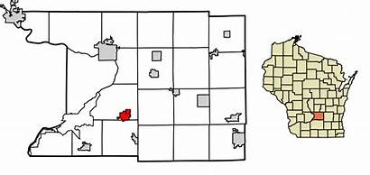 Wisconsin Columbia County Svg Cambria Highlighted Unincorporated