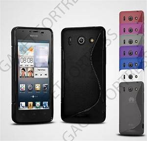 Ultra Thin S Line Wave Gel Case Cover For Huawei Ascend