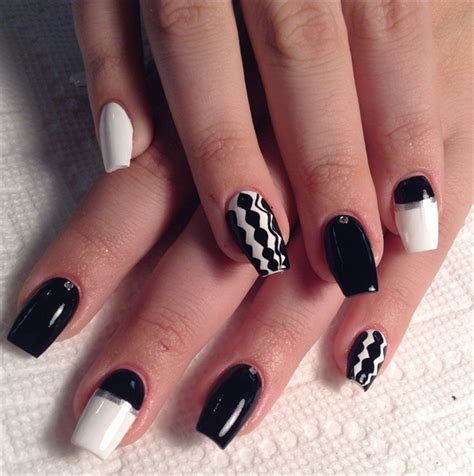 day  french    color nail art nails