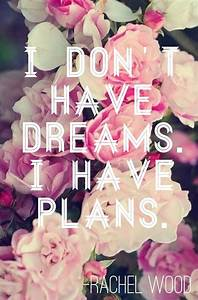I Don U0026 39 T Have Dreams  I Have Plans  Quote About Dreams And
