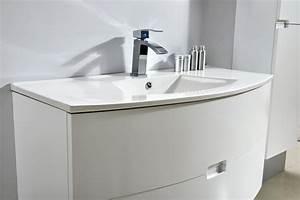 Waschtisch Inkl Unterschrank : badm bel unterschrank alba 100 in wei inkl waschtisch glasdeals ~ Bigdaddyawards.com Haus und Dekorationen