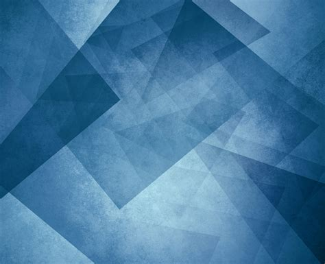 Abstract Modern Shapes by Abstract Blue Background With Triangles And Rectangle