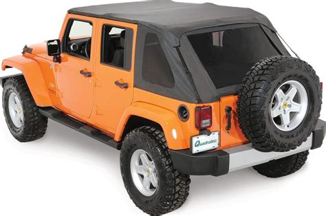 jeep frameless soft top rage products 106035 rage products complete trail