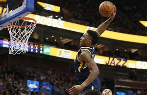 Donovan Mitchell Steals The Show With Highlight Reel Dunk