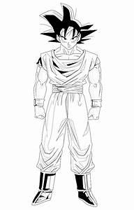 Goku para Pintar. ~ Pintamonos