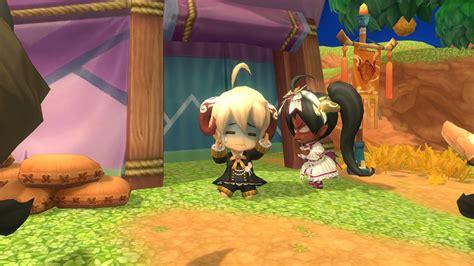 Anime Adventure Online Games Spirit Tales Online Fantasy Adventure Mmo Rpg Chibi Anime