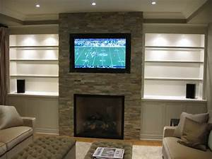 Image, Result, For, Modern, Fireplace, With, Built, Ins