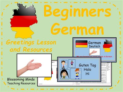German Lesson And Resources  Greetings Lesson By Blossomingminds  Teaching Resources Tes