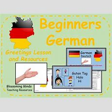 German Lesson And Resources  Greetings Lesson By Blossomingminds  Teaching Resources
