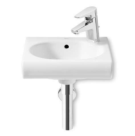 Roca Bathroom Sinks by Compact Sink Roca Meridian White Bathroom Sink Measures
