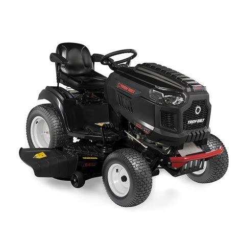 troy bilt xp xp bronco 54 25 hp v hydrostatic 54 in lawn mower with mulching