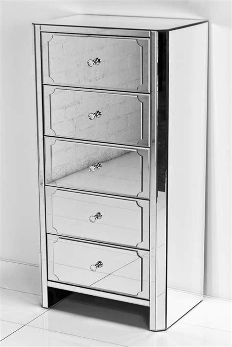 Mirrored Tall Dresser by Www Roomservicestore Com Regency All Mirror 5 Drawer