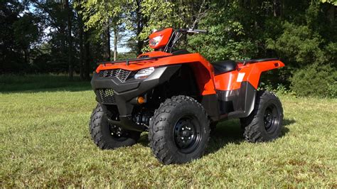 Where Is Suzuki Made by 187 2019 Suzuki Kingquad 500 Test Review With