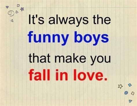 funny boys   fall  love love love quotes funny