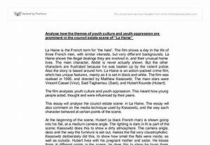 La Haine Essay La Haine Essay Titles La Haine Essay A Examples La  Social Justice Essay Texas Am Essay Prompts Essay About Information  Technology