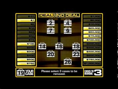 Deal Or No Deal Powerpoint Template by Deal Or No Show Powerpoint Template Gamesworld
