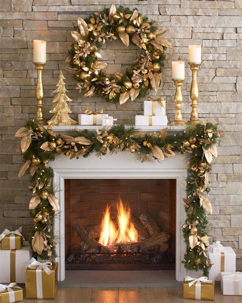 christmas mantles    decorating inspiration