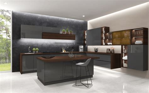 Furniture Kitchen by Modular Kitchen Design Customized Kitchen Furniture Blau
