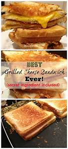 Grilled Cheese Sandwich With A Secret Ingredient
